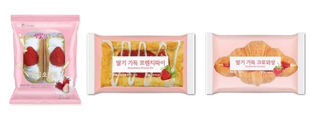 편의점 업계에선 '딸기'를 활용한 상품이 시즌 효자 상품으로 자리매김했다. 사진은 CU 딸기 디저트 시리즈. /CU 제공
