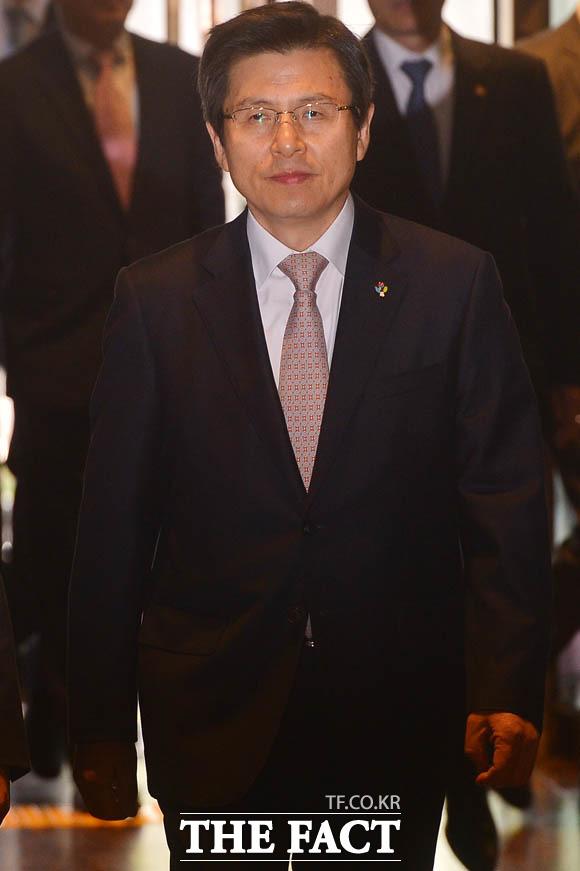박근혜 정권 시절 황교안 전 국무총리. /남윤호 기자