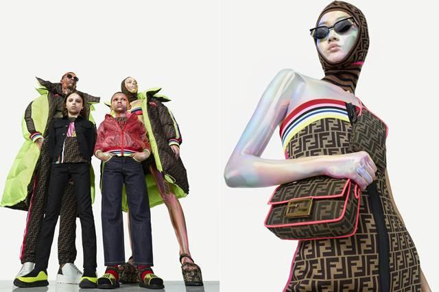 이탈리아 명품 펜디가 올해 새로운 컬렉션인 '로마 아모르(ROMA AMOR)'를 세계 최초로 국내에서 선보인다. 롯데백화점에서 2주간 선보인 뒤 세계 주요 국가에서 출시된다. /롯데백화점 제공