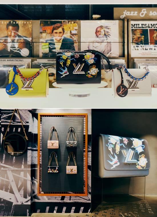 루이비통은 지난달 11일부터 2주간 서울 이태원의 문화 공간 '바이닐앤플라스틱'에서 세계 최초의 핸드백 팝업 스토어를 선보였다. 루이비통은 지난 2014년부터 출시한 '트위스트백'의 다양한 디자인을 한꺼번에 선보였다. /루이비통 제공