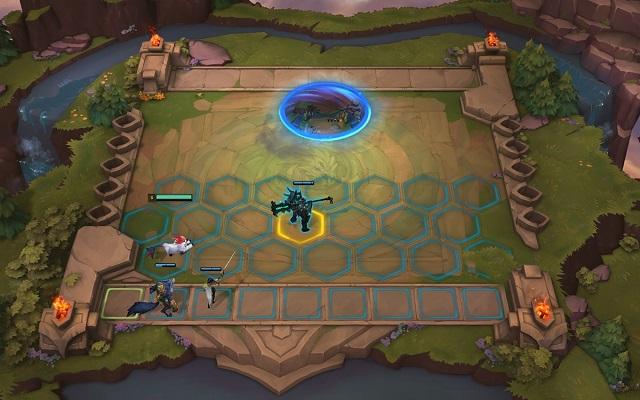 리그오브레전드 '전략적 팀 전투'(사진)는 8명의 플레이어가 챔피언 병력 조합으로 전략 대결을 펼쳐 최후의 승자를 가리는 게임 모드다. /라이엇게임즈 제공