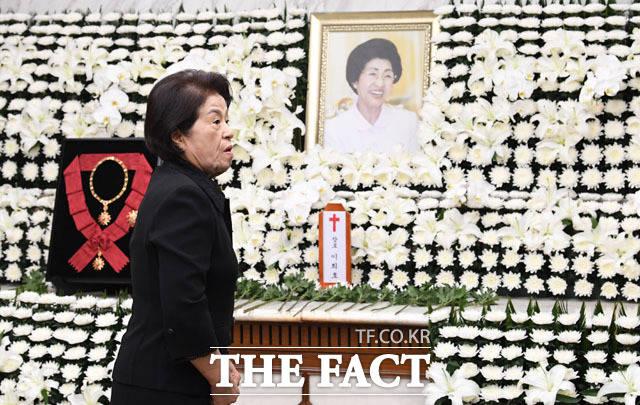 전두환 전 대통령 부인 이순자 여사